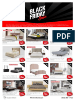 Modern Miami Black Friday 2019 Flyer