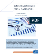 THE NHSN STANDARDIZED INFECTION RATIO (SIR)