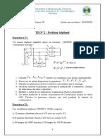 TD 2 Régime Triphasé-Cycle d'Ingénieur GI_2