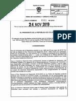 Decreto 2111 24 Noviembre 2019