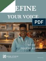 Define Your Voice - Workbook