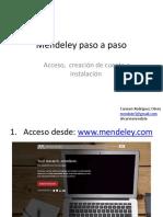 Como Descargar Mendeley