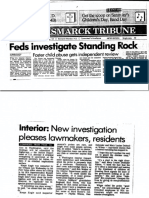 Feds Investigate Standing Rock_May 11 1990_Bismarck Tribune