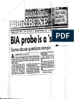 BIA Probe is a Start_April 3 1990_Bismarck Tribune