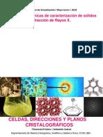 ClaseXI_celdas, Direcciones y Planos Cristalográficos(1)