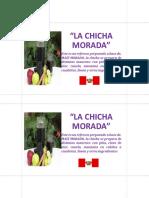 La Chicha Morada