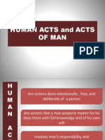 Human Acts and Acts of Man