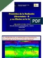Pronostico de La Radiacion Ultraviolet A