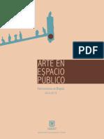 Arte en Espacio Publico - Intervenciones en Bogota, 2012 - 2015