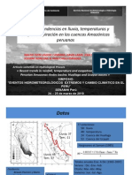 Recientes tendencias- ríos Huallaga y Ucayali
