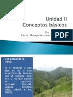 Conceptos manejo de cuencas