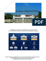The Executive Department