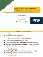 Graph Mining