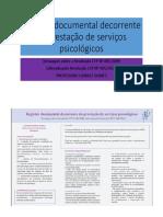 Registro documental decorrente da prestação de serviços psicológicos.pptx