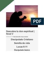 Escuela 5 Descubre Tu Don Espiritual