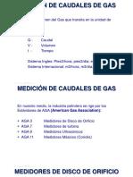 Mediciones de Gas