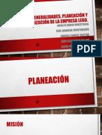 Generalidades, Planeación y Organización de la empresa.pptx