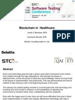 Blockchain in Healthcare Regional Round Ppt Template (1)