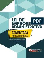 Lei de Improbidade Administrativa - Comentada Artigo Por Artigo - Revisado