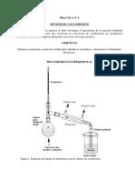 Practica 8 de Laboratorio de Organica ULA