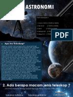 Sistem Teleskop Kelompok 4