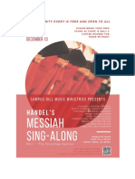 Messiah 2019 Poster