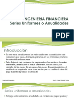 Cap. 14 Series Uniformes o Anualidades[1]
