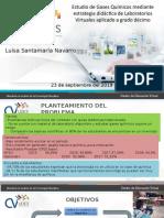 Estudio de Gases Quimicos - Luisa Santamaria