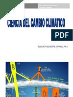 ciencia del cambio climatico