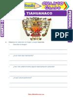 Cultura Tiahuanaco Resumen Para Cuarto Grado de Primaria