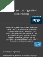 Tarea 3 - Perfil de un ingeniero electrónico
