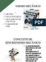 sincronismo mecânico