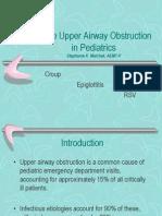 Acute Upper Airway Obstruction_Pediatrics