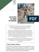 EJECUCIÓN DE OBRAS DE DESAGÜE