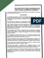 Acuerdo de Bolivia y El Salvador