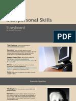 cuin 3313 interpersonal skills storyboard