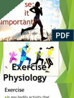 exercise physilogy