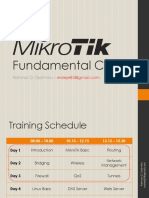 Mikrotik Fundamental
