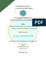 (Tesis Titulo) Estudio Del Riesgo Sismico en La Institucion Educativa Tecnica ...MENDOZA SANCHEZ MIGUEL