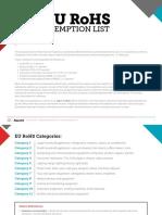Guide RoHS Exemption List PC GD 180717