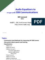 Radio Equalization Presentation Nov 6 2010
