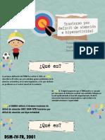 TDAH PRESENTACIÓN EDUCATIVA II