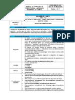 Manual de Funciones Ingeniero de Campo