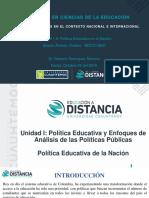Alveiro Álvarez Ovallos_Actividad 1.3 Política Educativa en La Nación1