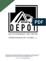 ADA MP1 Classic Manual Version 1
