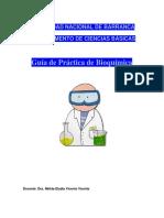 Guía de Practica Bioquímica