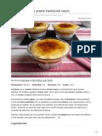 Cocinillas.elespanol.com-Goxua Receta de Postre Tradicional Vasco