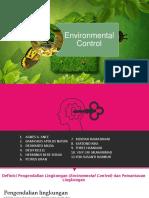 Epidemilogi Lingkungan Kelompok 2 Envorinmental COntrol