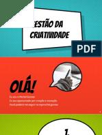 Gestão Criativa - Michel Gomes
