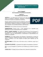 Reglamento ley de propiedad Quintana Roo